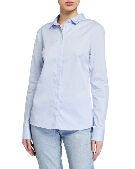 Maison Labiche Love Life Classic Button-Down Shirt