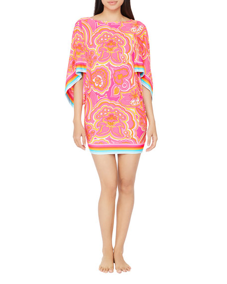 Trina Turk Morning Sunrise Coverup Tunic