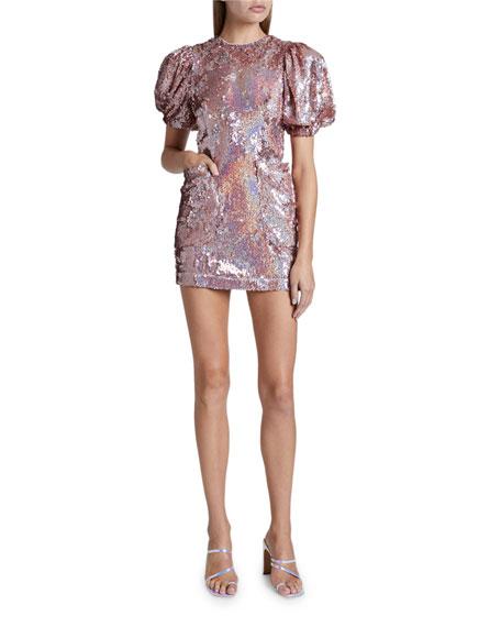 Rotate Birger Christensen Katie Dress