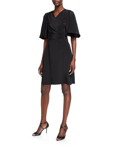 Maggie Silk Wrap Dress