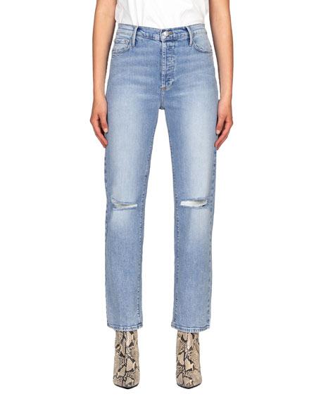 Black Orchid Parker Vintage Straight-Leg Jeans