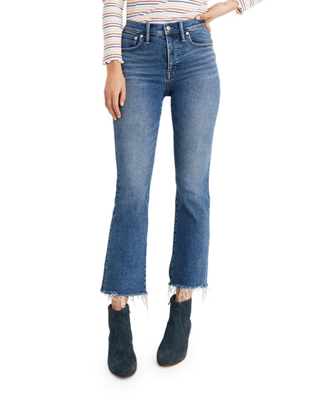 Madewell Cali Mid-Rise Flare Jeans