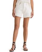 AGOLDE Parker High-Waist Cutoff Jean Shorts