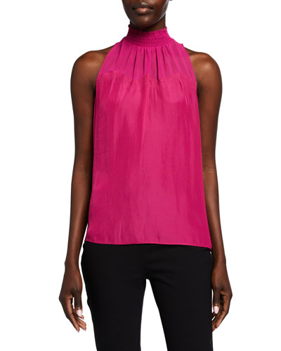 Margery Sleeveless High-Neck Top