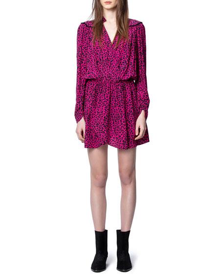 Zadig & Voltaire Reveal Leopard-Print Dress
