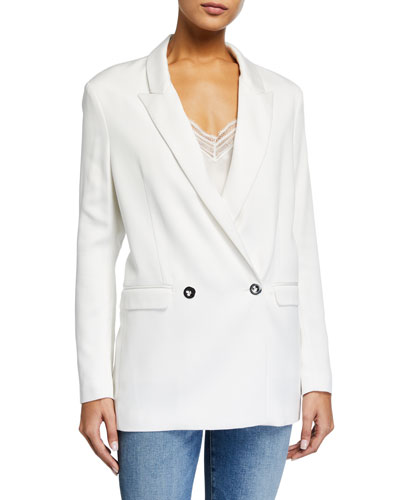 Kitch Double-Breasted Blazer