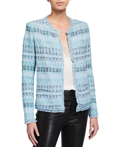 Louisa Open-Front Jacket