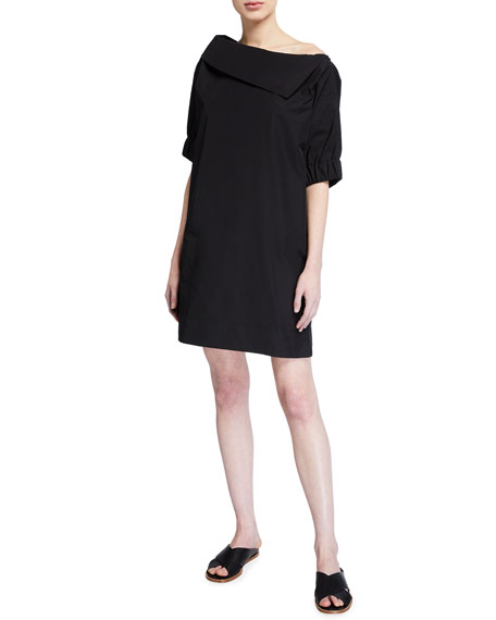 Finley Skipper Elbow-Sleeve Shift Dress
