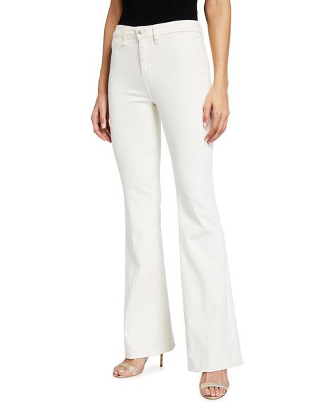 L'Agence Joplin High-Rise Flare Jeans