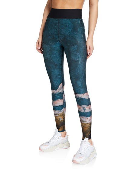 Ultracor Caspian Ultra High-Waist Printed Leggings