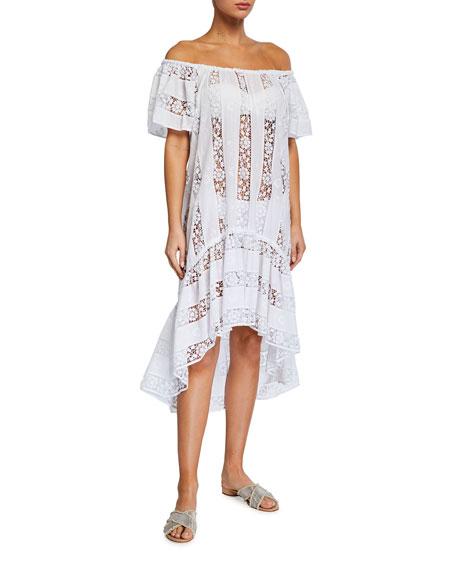 Miguelina Danica Lace Coverup Dress
