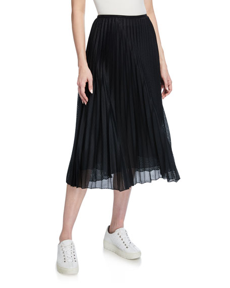 Moncler Pleated A-Line Skirt