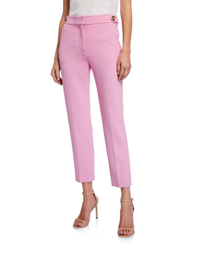 Gamila Mid-Rise Ankle Pants