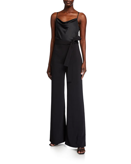 Likely Lulu Cowl-Neck Combo Jumpsuit