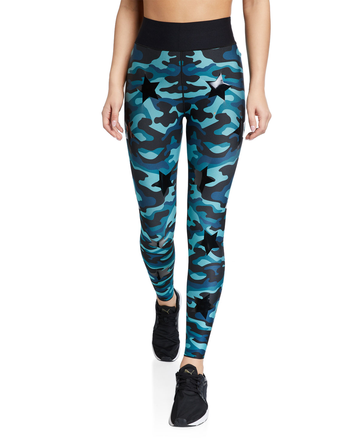 Ultracor KNOCKOUT CAMO ULTRA HIGH-WAIST LEGGINGS