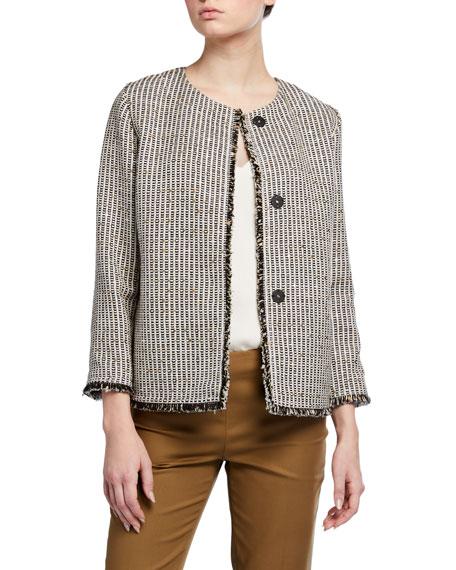 Lafayette 148 New York Finnegan Avalon Tweed Jacket