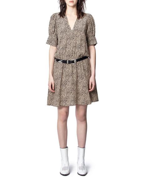 Zadig & Voltaire Russel Leopard-Print Dress