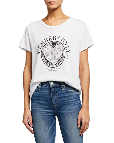 Zadig & Voltaire Alys Members Only Graphic Tee