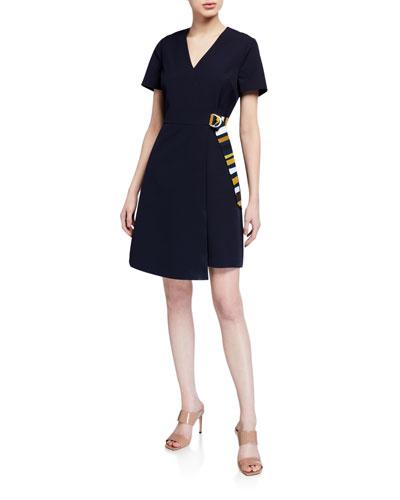 Florry V-Neck Wrap Dress