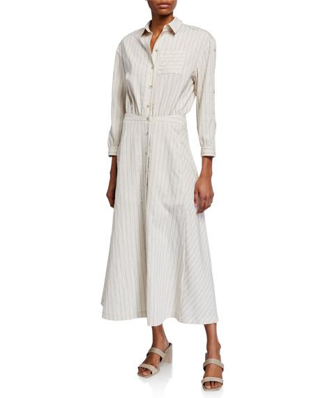 ba&sh Sami Long Shirtdress