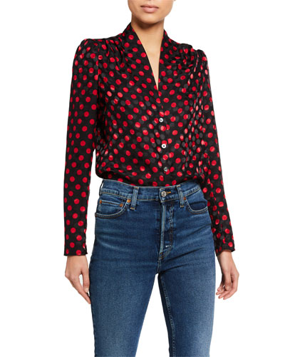 40s Tailored Blouse