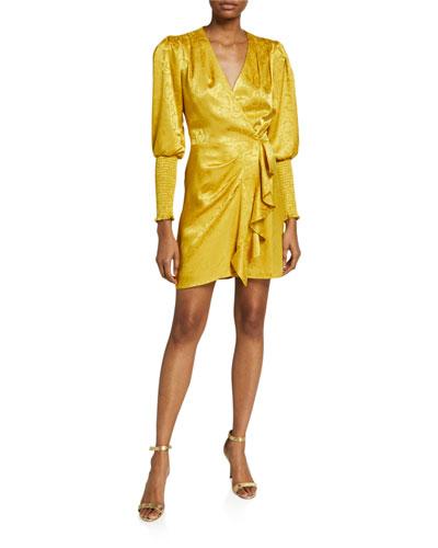 Rosie Wrap Mini Dress