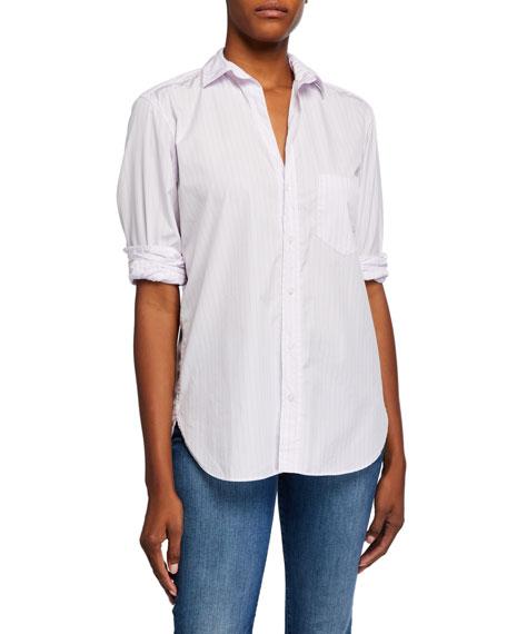 Frank & Eileen Joedy Pinstriped Button-Down Poplin Shirt