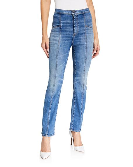 Veronica Beard Jeans Carly High-Rise Kick Flare Jeans