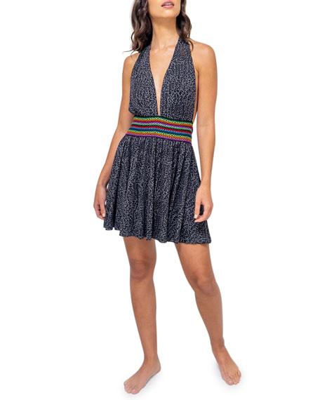 Pitusa Mini Halter Dress