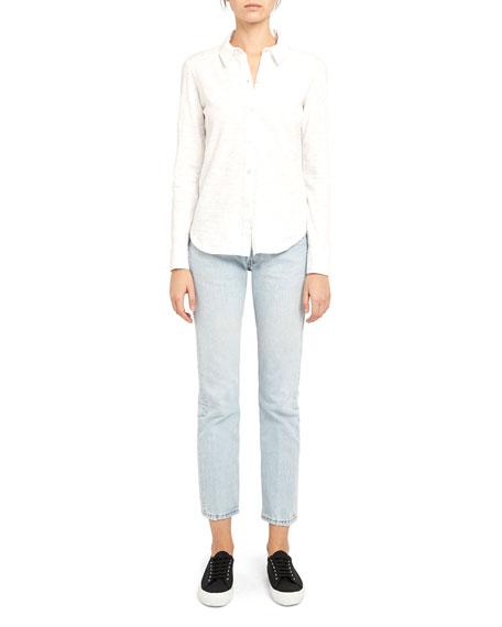 Theory Riduro Organic Cotton Button-Down Shirt
