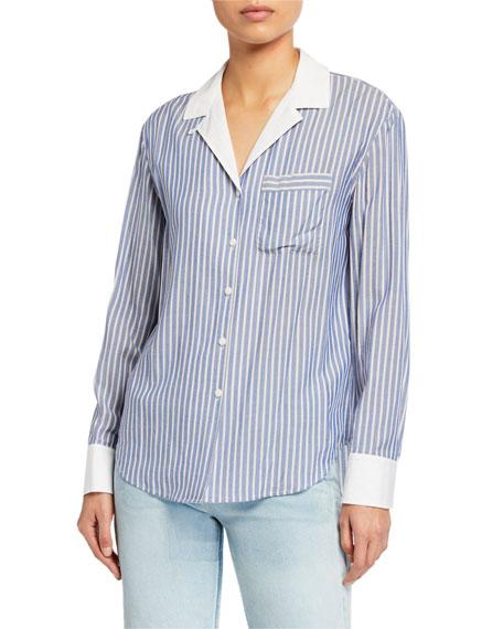 Rag & Bone Amelia Striped Pajama Shirt