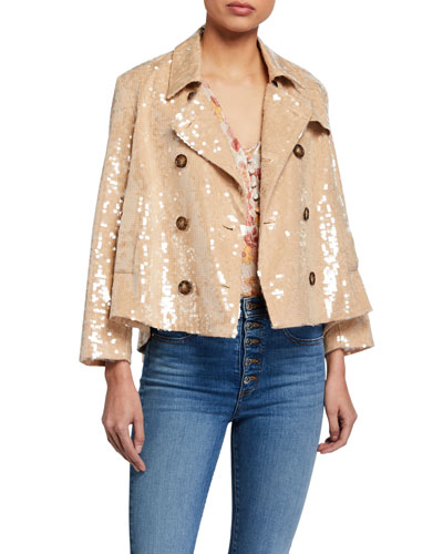Darya Sequined Jacket