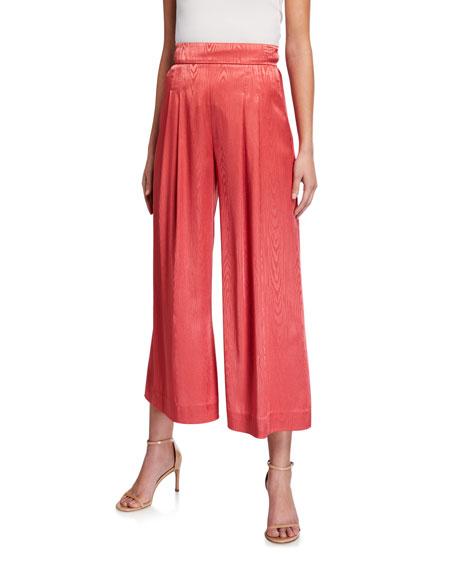 Veronica Beard Leonor Wide-leg Pants