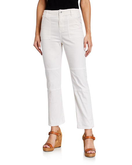Veronica Beard Jeans Lynne Mid Rise Cargo Pants