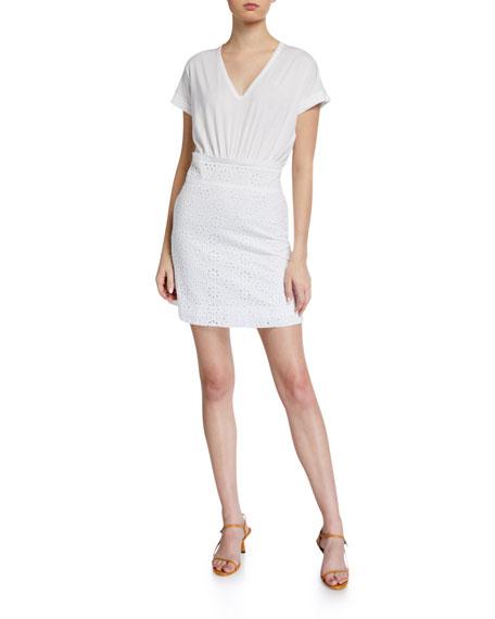 Veronica Beard Jeans Jiya Combo Dress