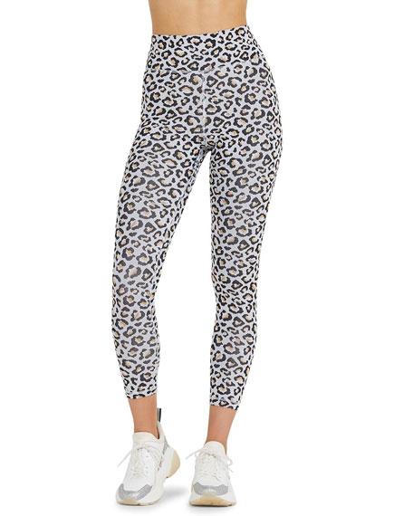 The Upside Leopard Print Active Leggings