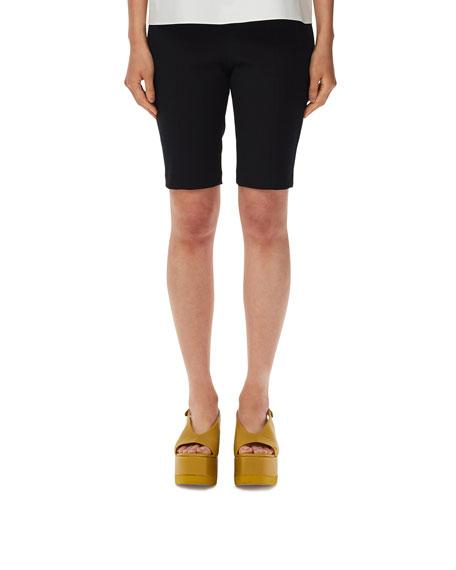Tibi Anson Stretch High-Waist Biker Shorts
