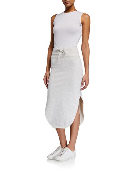 Frank & Eileen Tee Lab Long Fleece Midi Skirt