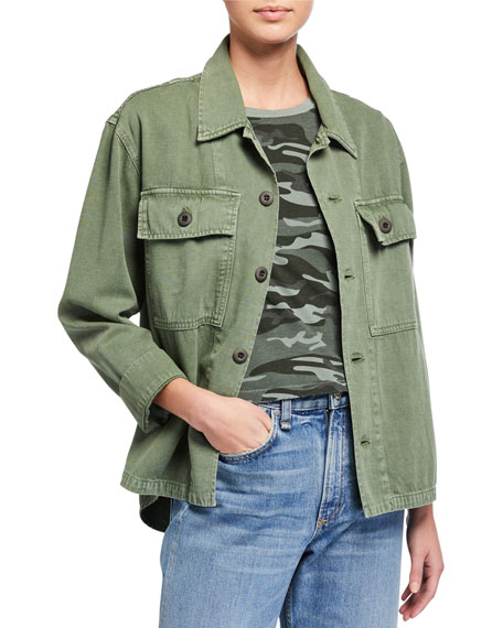 AMO Denim Army Shirt Jacket