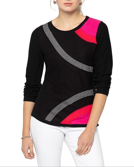 NIC+ZOE Petite Inner Circle Sweater