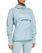 adidas by Stella McCartney Tech Pullover Jacket with