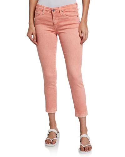 Prima Mid Rise Cigarette Crop Jeans