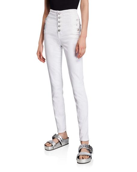 J Brand Natasha Sky-High Super Skinny Jeans