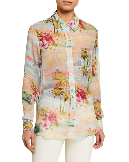 Le Superbe Future Ex-Boyfriend Tropical Printed Shirt