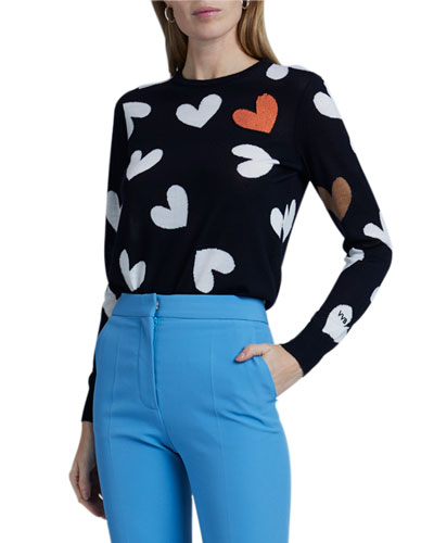 Heart Intarsia Sweater