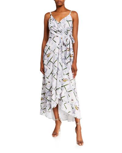 Olevya Everglade Sleeveless High-Low Dress