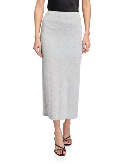 Sablyn Nina Cashmere Jersey Pull-On Skirt