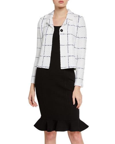 Herringbone Bracelet-Sleeve Jacket