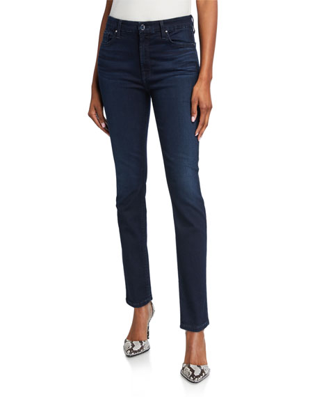 Jen7 by 7 for All Mankind High-Rise Skinny Jeans