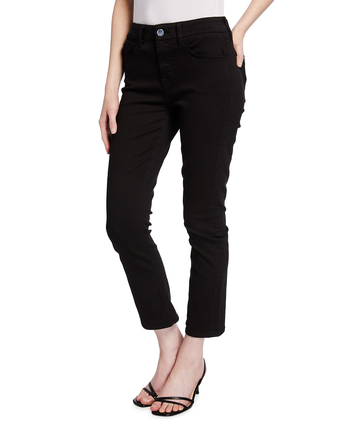 Ankle Straight Jeans